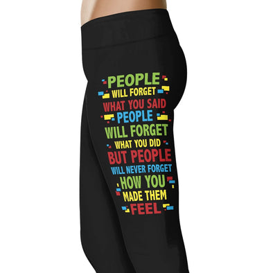 People Will Forget What You Said - Nurse Leggings