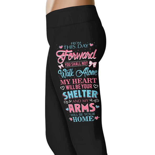 From This Day Forward - Wedding Excitement Leggings