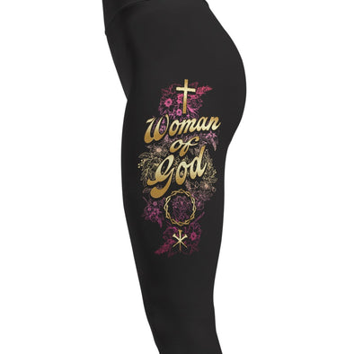 Woman Of God - Religion Leggings