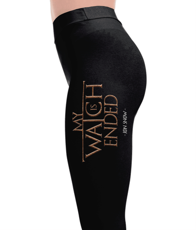 My Watch Is Ended - Game of Thrones Leggings