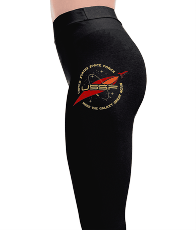USSF Logo - Space Force Leggings