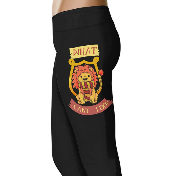 What Can't I Do? - Gryffindor Leggings