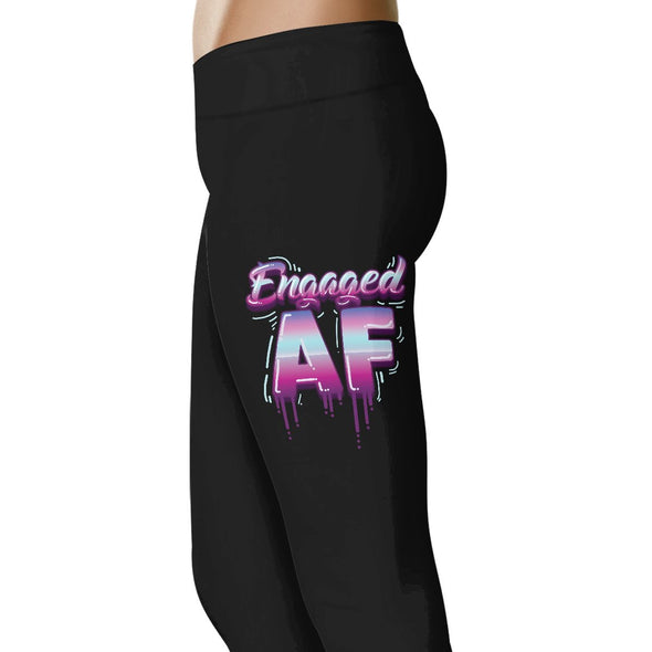 Engaged AF - Wedding Excitement Leggings