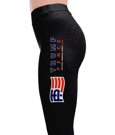 Trump Pence - Keeping America Great Leggings