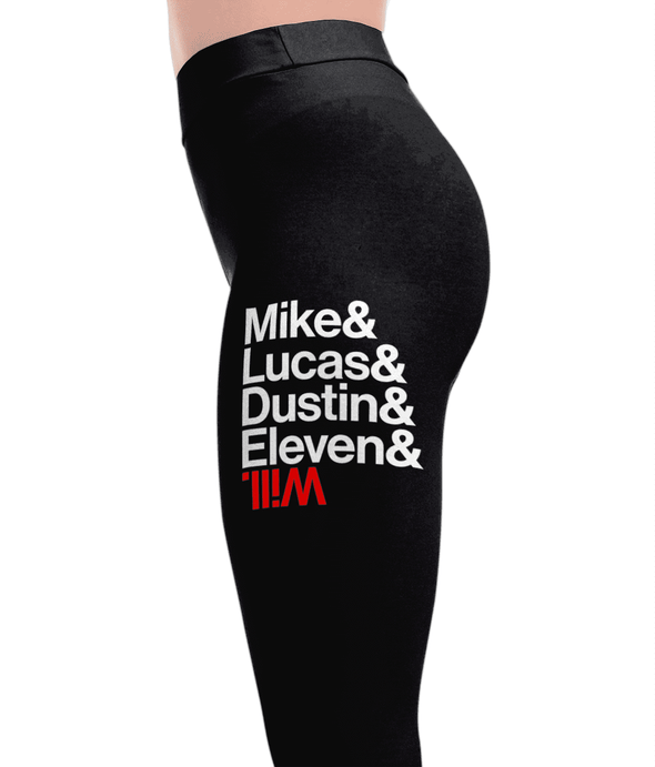 Mike And Will - Stranger Things Leggings