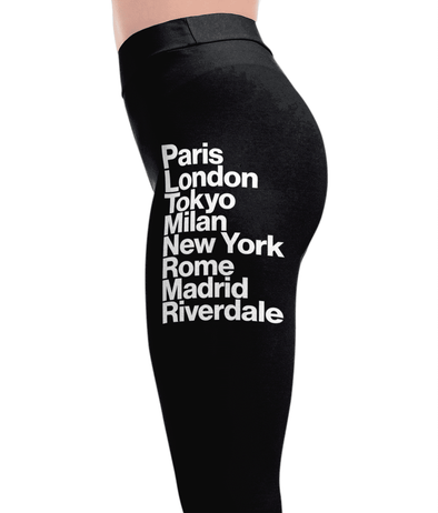 City Names Leggings