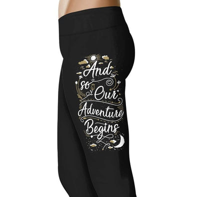 And so our adventure begins - Wedding Excitement Leggings