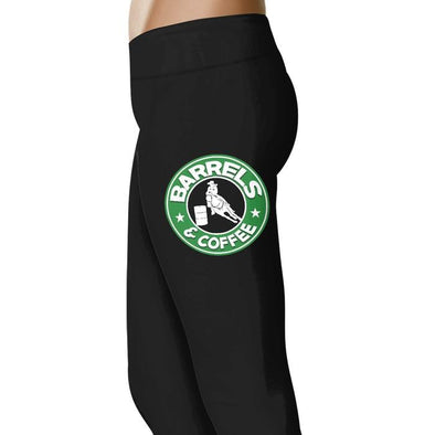 Barrels and Coffee - Barrel Racing Leggings