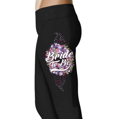 Bride To Be - Wedding Excitement Leggings