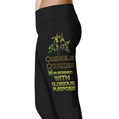 Burdened With Glorious Purpose Leggings