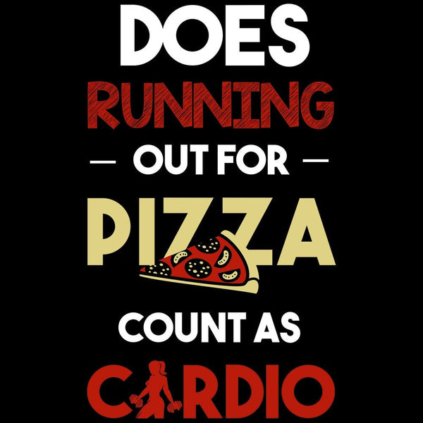 Does Running Out For Pizza Count As - Fitness and Wit Leggings