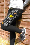 Don't Make Me Use My Softball Mom  -Softball Mom Leggings