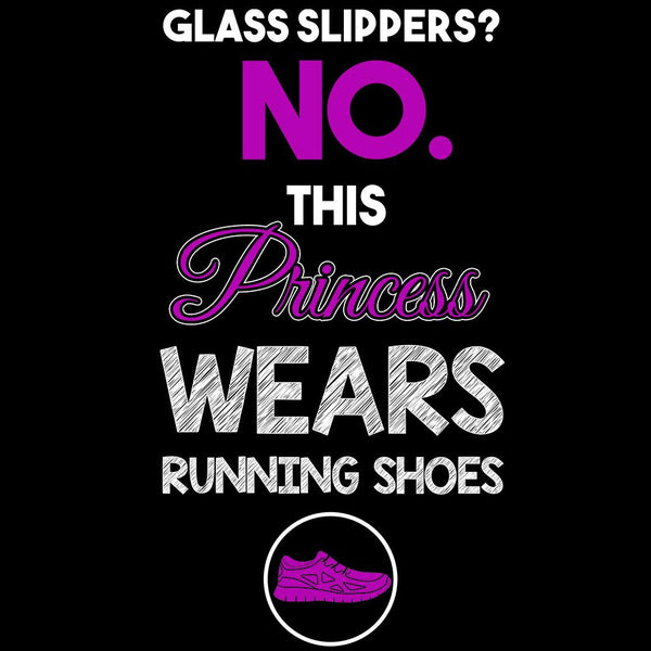 This Princess Wears Running Shoes - Fitness and Wit Leggings