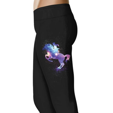 Horse Rider Art - Horse Leggings