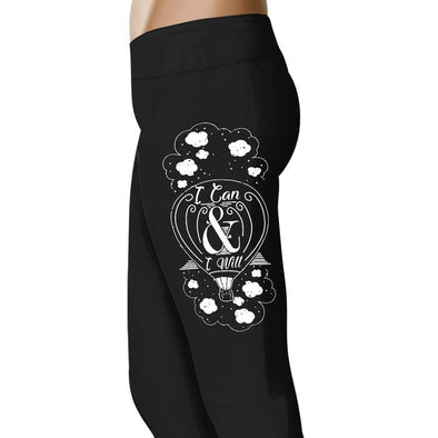 I Can And I Will -  Inspiring Leggings