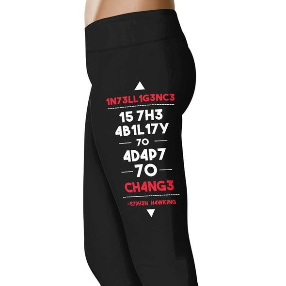 Intelligence - Geek Leggings