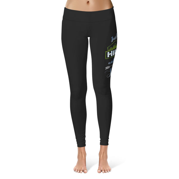 Just Hike and Be Happy - Hiking Leggings