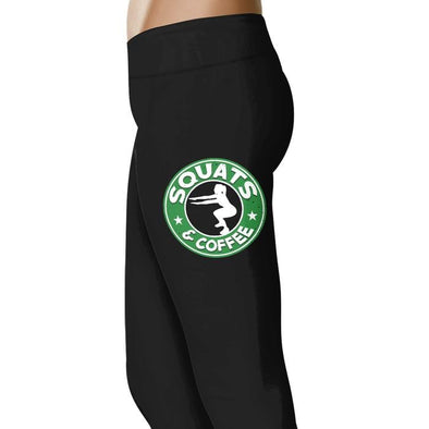 Squats and Coffee - Fitness and Wit Leggings