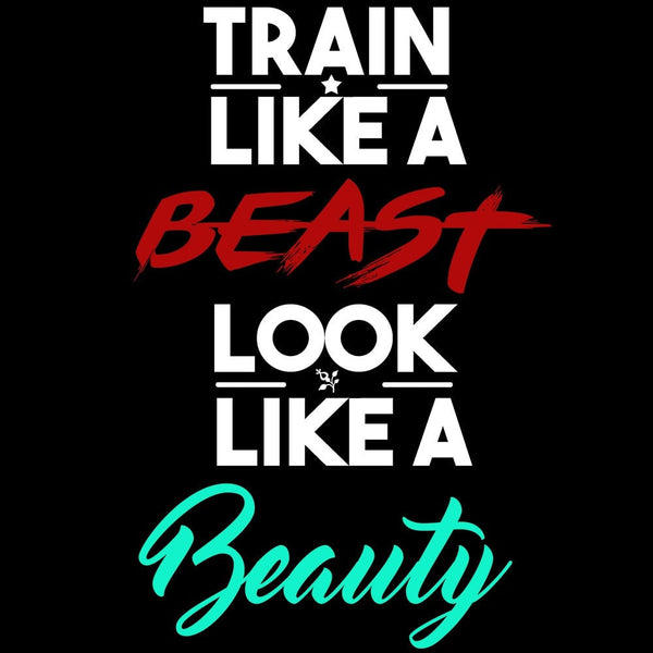 Train Like A Beast - Beauty or Beast Leggings