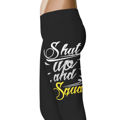 Shut up and Squat - Fitness and Wit Leggings