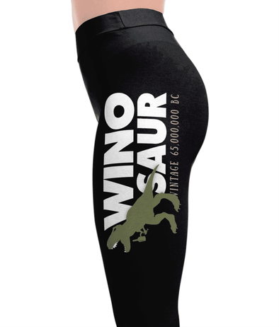 Winosaur - Drinking Leggings