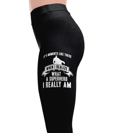 Superhero I Am - Superheroes Leggings