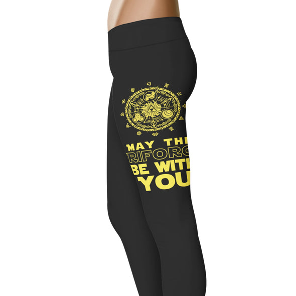 May The Triforce Be With You Leggings