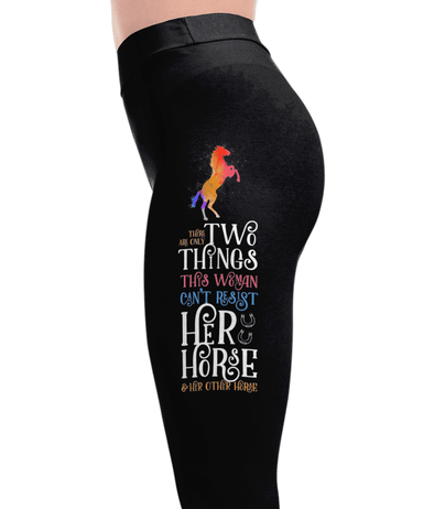 Two Things - Horse Leggings