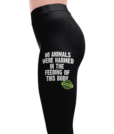 No Animals Harmed - Vegan Leggings