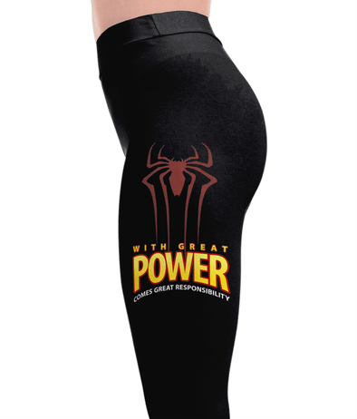 Spider - Superheroes Leggings