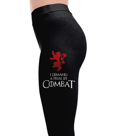 Trial By Combat - Game of Thrones Leggings