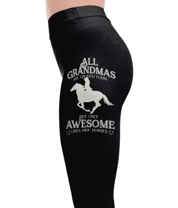 Awesome Grandmas - Horse Leggings