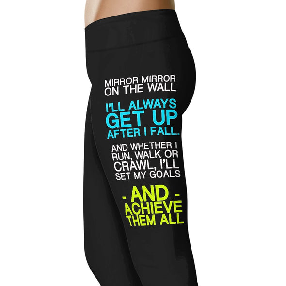 Mirror Mirror - Running and Fitness Leggings