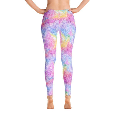 Candy Heartland Polyester Spandex Leggings