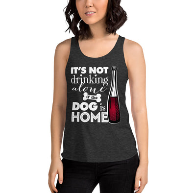 Its Not Drinking Alone - Women's Tri-Blend Racerback Tank