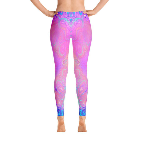Minds Eye View Polyester Spandex Leggings