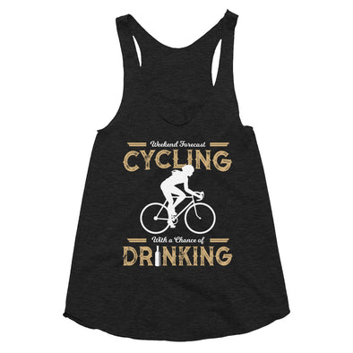 Weekend Forecast Cycling - Women's Tri-Blend Racerback Tank