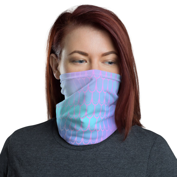 Mermaid Neck Gaiter - Purple