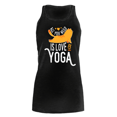 Cat Yoga - Bella Flowy Tank