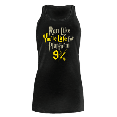 Run Like You're Late 9 3/4 - Womens Bella Flowy Tank