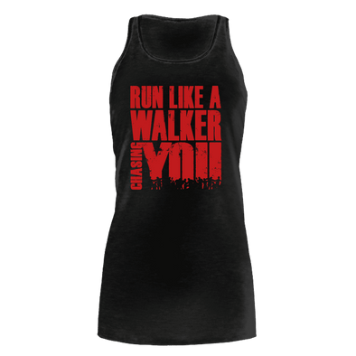 Run Like a Walker - Flowy Tank