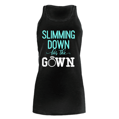 Slimming Down for the Gown - Women's Bella Flowy Tank