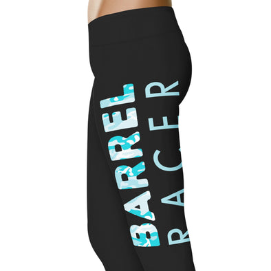 YouStatement Barrel Racing Barrel Racer - Barrel Racing Leggings