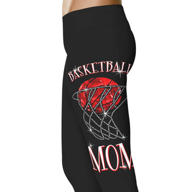 YouStatement Basketball Basketball Sparkle Mom - Basketball Leggings