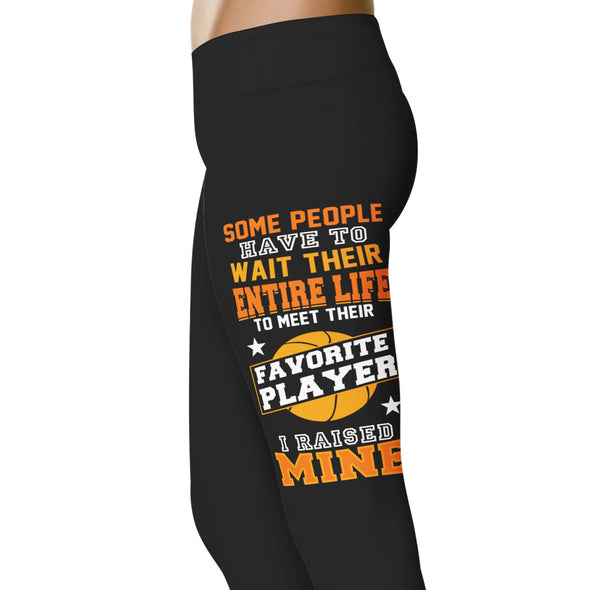 YouStatement Basketball Some People Have To Wait Their Entire Life - Basketball Leggings