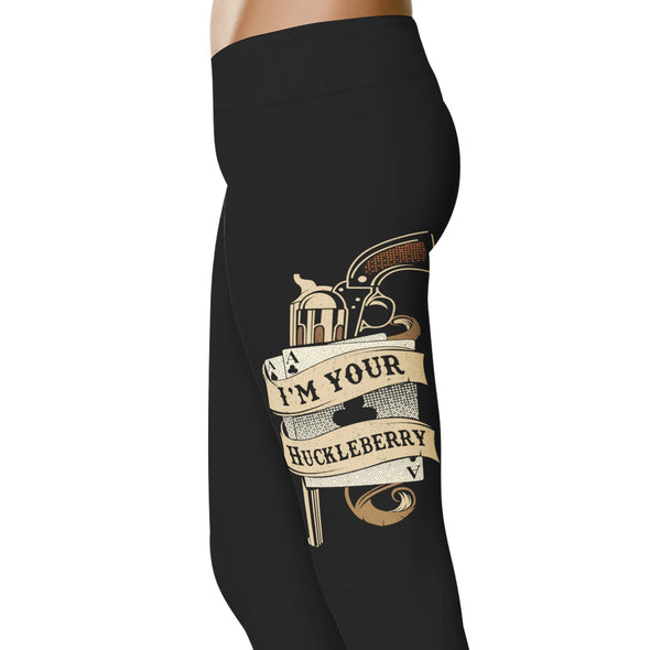 YouStatement Country Love I'm Your Huckleberry 2 - Country Love Leggings