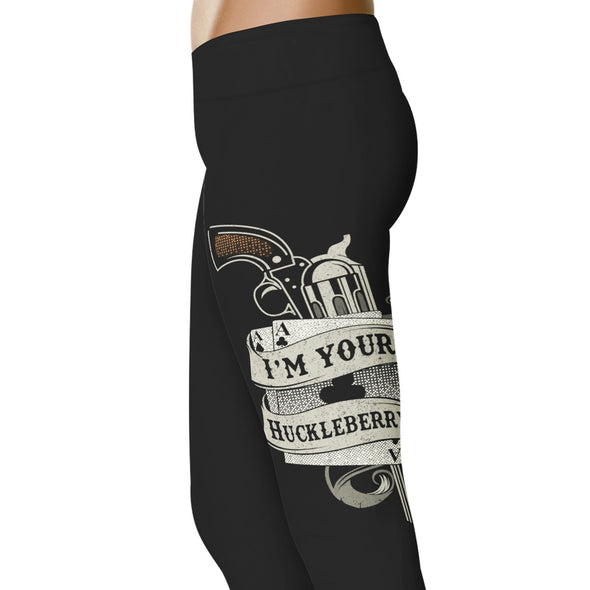 YouStatement Country Love I'm Your Huckleberry - Country Love Leggings