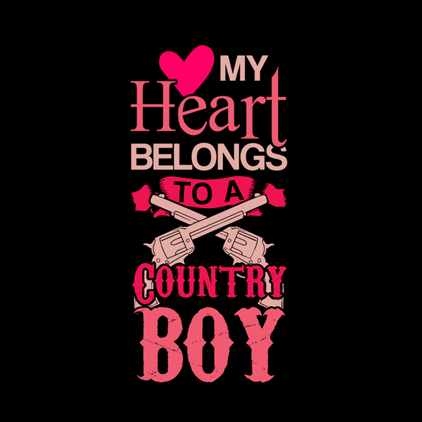 Unique I Love My Country Boy