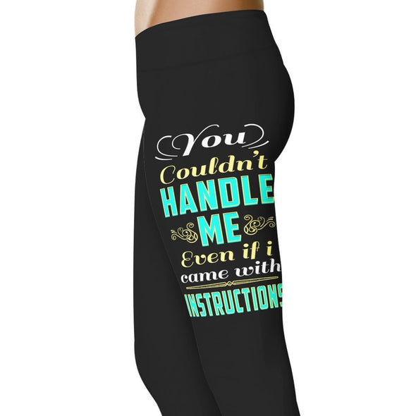YouStatement Country Love You Couldn't Handle Me - Country Love Leggings
