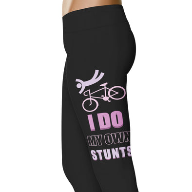YouStatement Cycling I Do My Own Stunts - Cycling Leggings